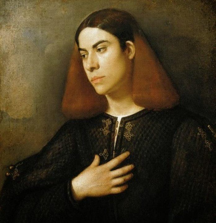 Портрет Антонио Броккардо (мужской портрет) :: Джорджоне, художник - Портреты фото