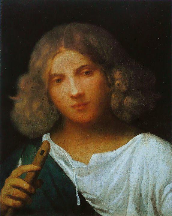 Юноша с флейтой (концерт) :: Джорджоне - Портреты фото
