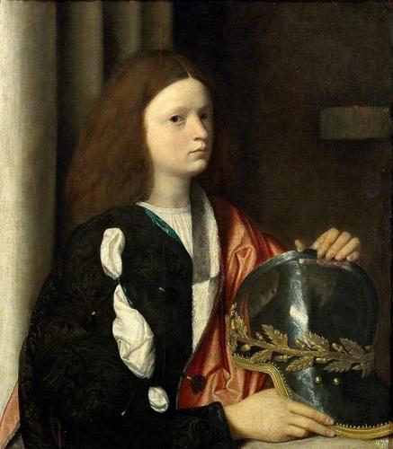 Портрет Франческо Марии делла Ровере :: Джорджоне - Портреты фото