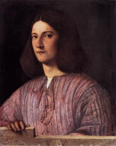Портрет юноши (Портрет Джустиниани) :: Джорджоне - Портреты фото