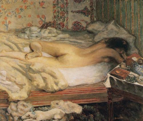 Сиеста: мастерская художника :: Пьер Боннар, описание картины - Картины ню, эротика в шедеврах живописи фото