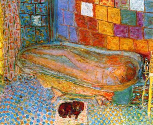 Обнаженная натурщица в ванне :: Пьер Боннар, описание картины - Картины ню, эротика в шедеврах живописи фото