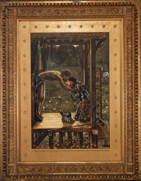 Милосердный рыцарь :: Эдуард Берн Джонс - Edward Coley Burne-Jones фото