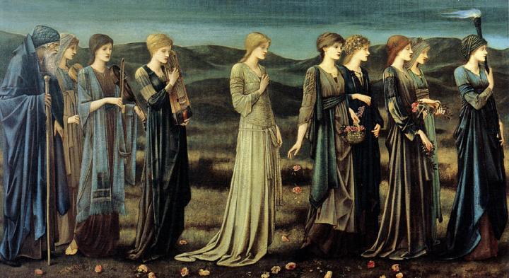 Бракосочетание Психеи :: Сэр Эдвард Бёрн-Джонс - Edward Coley Burne-Jones фото