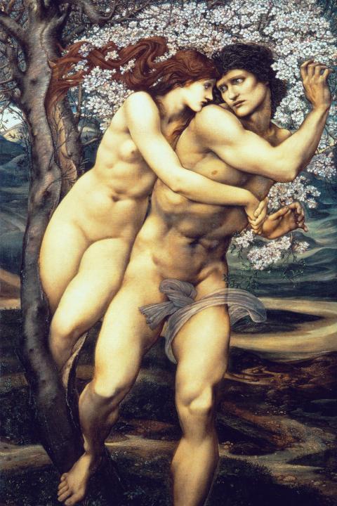 Древо прощения :: Сэр Эдвард Бёрн-Джонс - Edward Coley Burne-Jones фото
