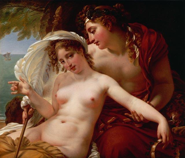 Ариадна и Вакх :: Антуан Жан Гро, описание картины - Античная мифология фото