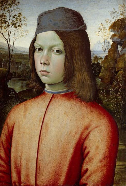 Портрет мальчика 15 века :: Бернардино ди Бетто, описание картины - Портреты фото