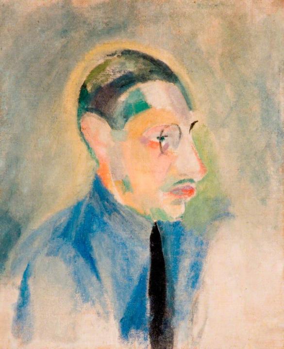 портрет Игоря Стравинского :: Робер Делоне - Портреты фото