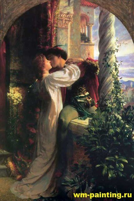 Ромео и Джульета - Dicksee, Sir Frank Bernard фото