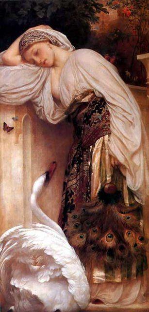 Одалиска :: Фредерик Лейтон, описание картины - Leighton, Frederick фото