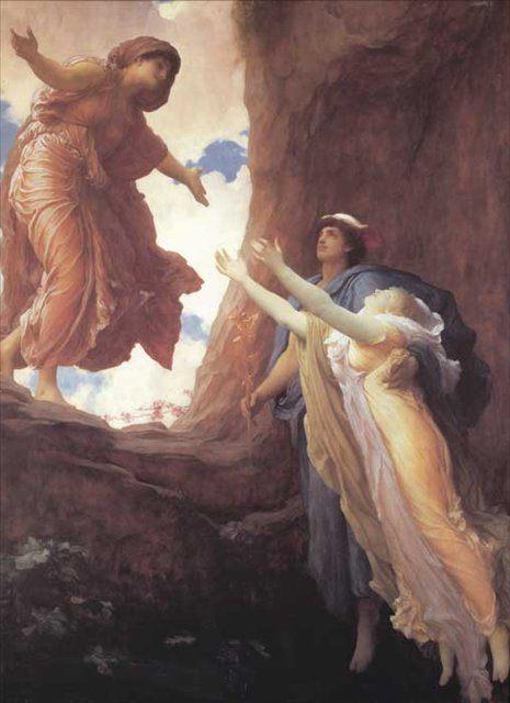 Возвращение Персефоны :: Фредерик Лейтон, описание картины - Leighton, Frederick фото
