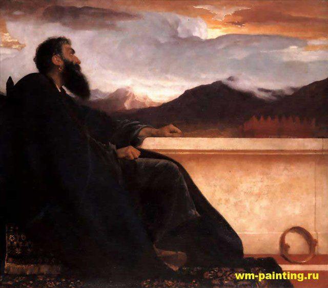 Давид :: Фредерик Лейтон, описание картины - Leighton, Frederick фото