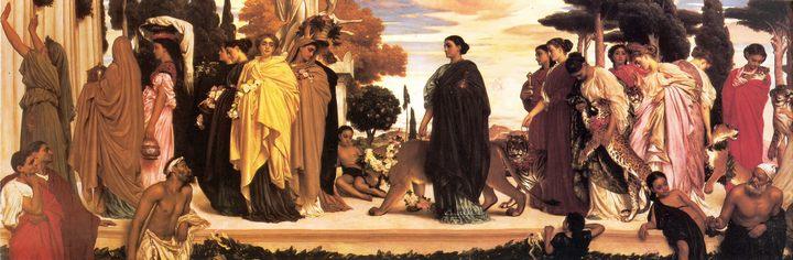 Сиракузская свадьба :: Фредерик Лейтон, описание картины - Leighton, Frederick фото