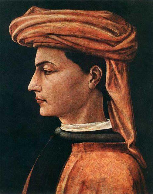 Портрет молодого человека :: Паоло Учелло - Paolo Uccello фото