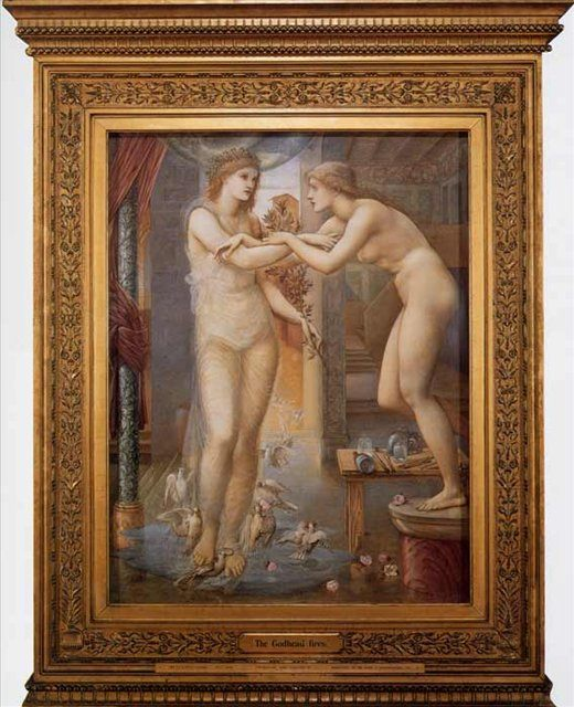 Огни Божественности (Пигмалион и Образ) :: Эдуард Берн Джонс - Edward Coley Burne-Jones фото