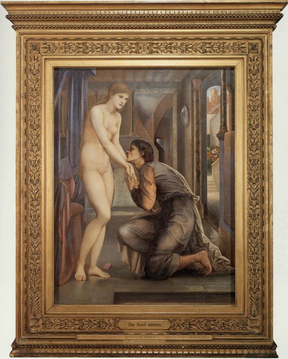 Пигмалион и Образ, Слияние душ - Берн-Джонс, Эдуард фото