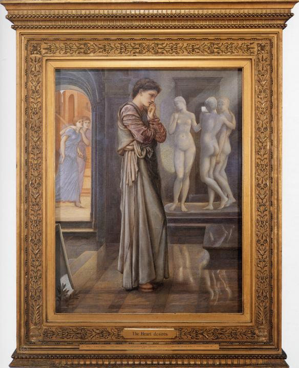 Сердечные Желания ( Пигмалион и Образ ) :: Бёрн-Джонс Эдуард - Edward Coley Burne-Jones фото