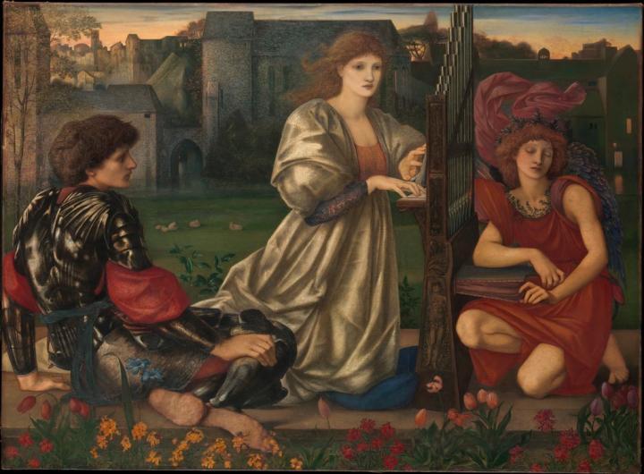 Песнь любви :: Эдуард Берн-Джонс - Edward Coley Burne-Jones фото