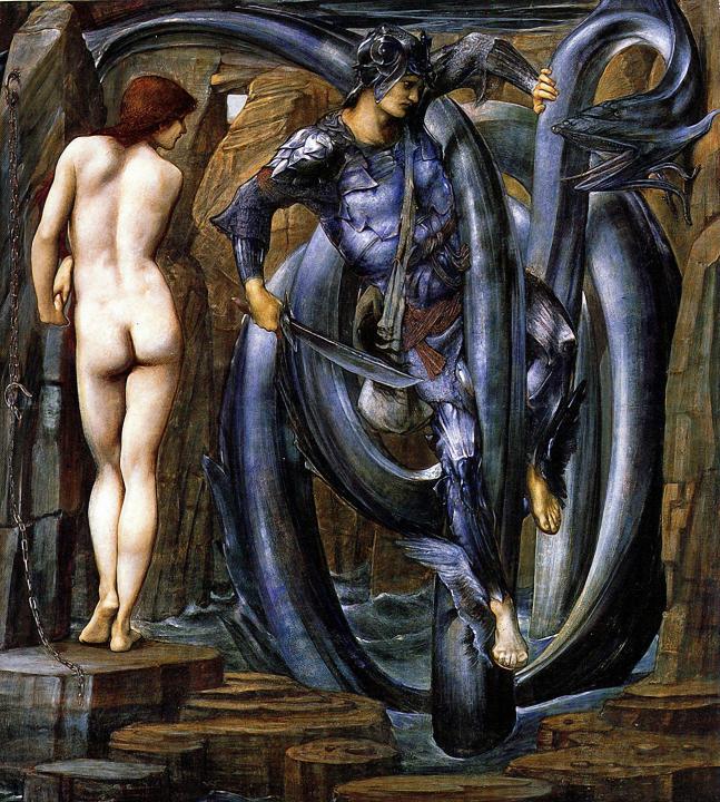 Преисполненный гибели, серия Персей :: Бёрн-Джонс Эдуард  - Edward Coley Burne-Jones фото