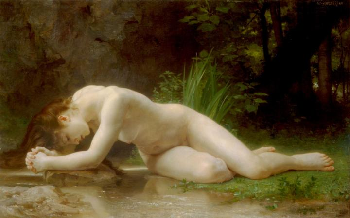 картина Библис - Adolphe William Bouguereau фото