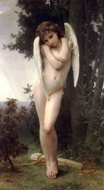 картина Мокрый купидон :: Адольф Бугеро - Adolphe William Bouguereau фото