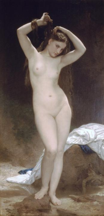 картина <Купальщица> :: Адольф Бугеро - Adolphe William Bouguereau фото