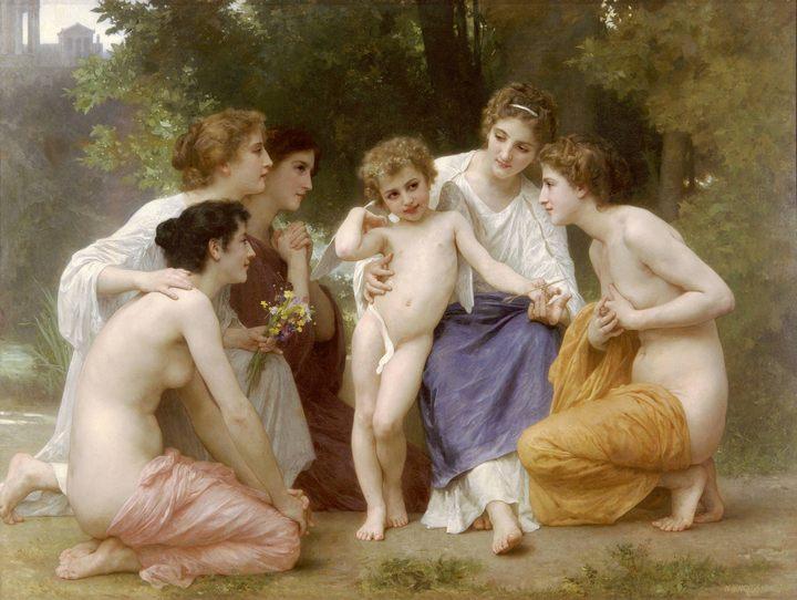 картина Восхищение :: Бугеро Адольф - Adolphe William Bouguereau фото