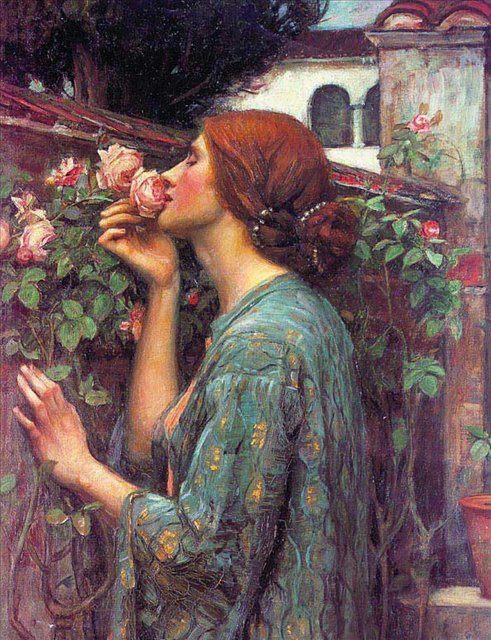 Моя любимая роза :: Джон Уйльям Вотерхауз - Портреты фото