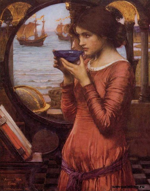 картина Судьба, Джон Уйльям Вотерхауз - John William Waterhouse фото