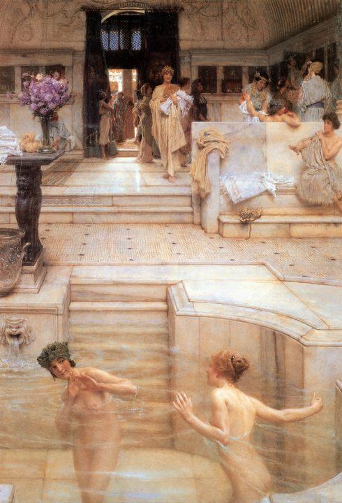 картина Любимый отдых :: Альма-Тадема Сэр Лоуренс, картина ню - Lourens Alma Tadema (Альма-Тадема) фото