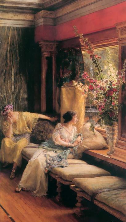 картина <Тщетное Ухаживание> :: Альма-Тадема - Lourens Alma Tadema фото