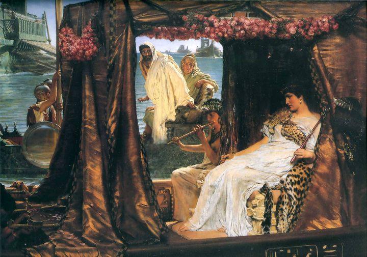Антоний и Клеопатра ,Альма-Тадема сэр Лоуренс - Исторические сюжеты в живописи фото