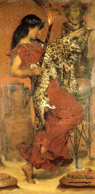 картина Фестиваль урожая ::  Альма-Тадема сэр Лоуренс - Древний Рим и Греция, Египет фото