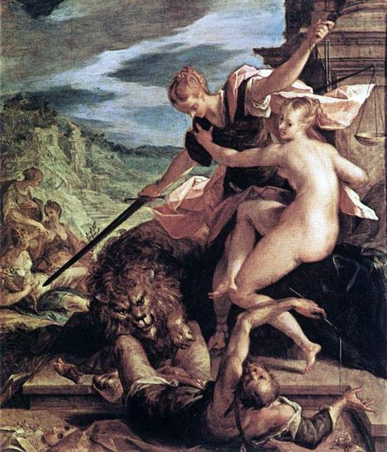 Аллегория, Ханс вон Аахен - Античная мифология фото