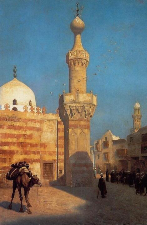 Вид на Каир :: Жероме Жан Леон - Арабский восток фото