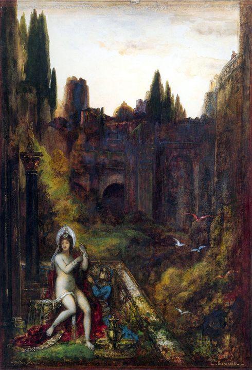 картина Вирсавия :: Гюстав Моро - Библейские сюжеты в живописи фото