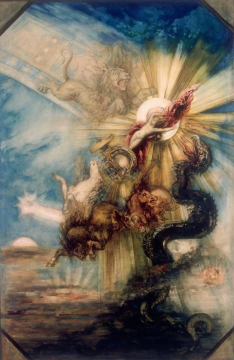 картина Фаэтон :: Гюстав Моро - Античная мифология фото