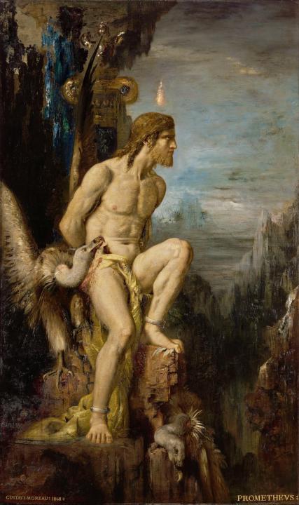 Прометей :: Гюстав Моро - Античная мифология фото
