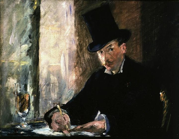 Портрет молодого человека Шез Тортони :: Эдуард Мане, описание картины - Edouard Manet фото