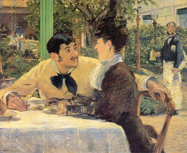 картина У папаши Латюиля :: Мане Эдуард - Edouard Manet фото