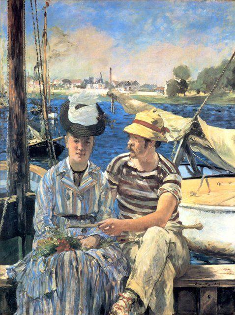 Argenteuil (Аржантей) :: Эдуард Мане - Edouard Manet фото