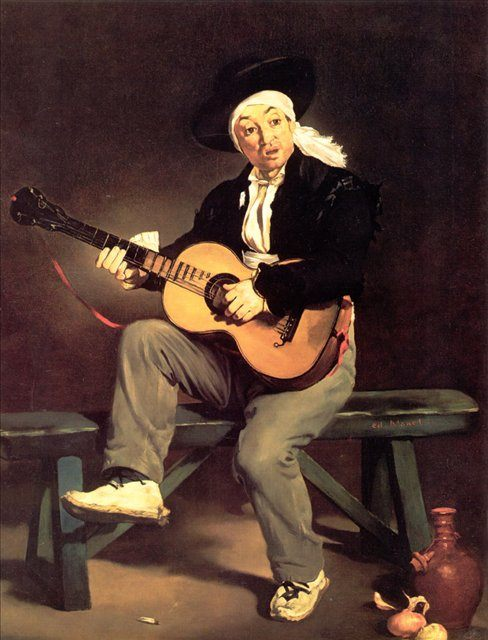 Гитарист :: Эдуард Мане - Edouard Manet фото