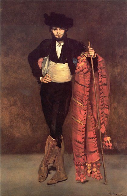 Юноша в костюме мачо :: Эдуард Мане, описание картины - Edouard Manet фото