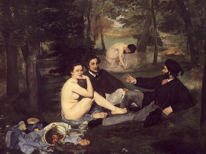 Завтрак на траве :: Эдуард Мане, описание картины - Edouard Manet фото