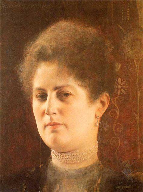 Женский портрет :: Густав Климт - Портреты фото