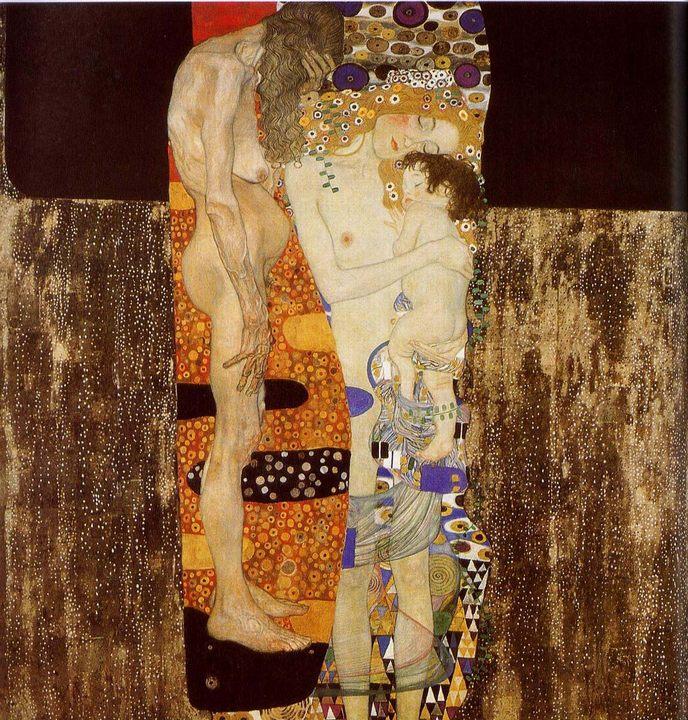 Три возраста женщины :: Густав Климт, описание картины  - Gustav Klimt фото