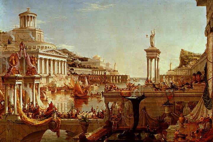 Расцвет империи :: Томас Коул - Архитектура фото