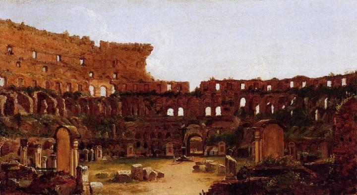 Развалины колизея :: Томас Коул - Архитектура фото