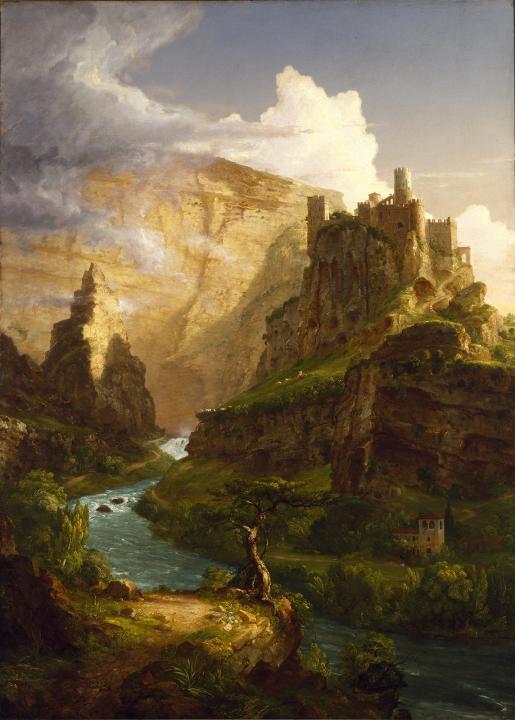 Замок на горе :: Томас Коул - Архитектура фото