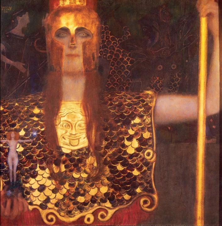 Афина Паллада :: Гюстав Климт - Античная мифология фото